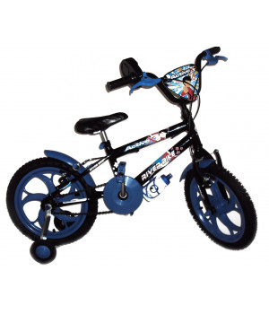 BIKE ARO 16 RIVER BIKE MASCULINA ACTIVE X PRETO C/ AZUL
