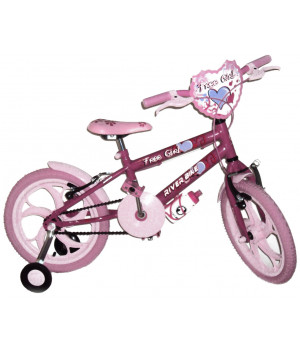 BIKE ARO 16 RIVER BIKE FEMININA FREEGIRL PINK